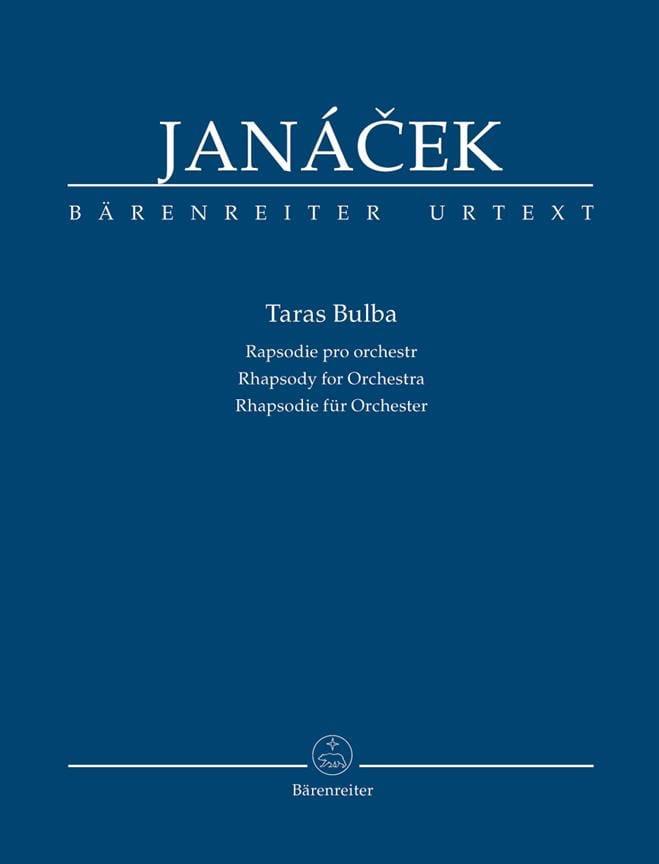 Taras Bulba - Conducteur - JANACEK - Partition - laflutedepan.com