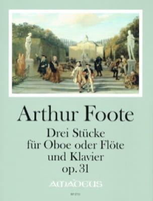 3 Pièces, op. 31 - Hautbois ou Flûte et piano - laflutedepan.com