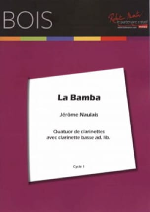 La Bamba - 4 Clarinettes - Traditionnel - Partition - laflutedepan.com
