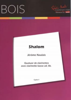 Shalom - 4 Clarinettes - Traditionnel - Partition - laflutedepan.com
