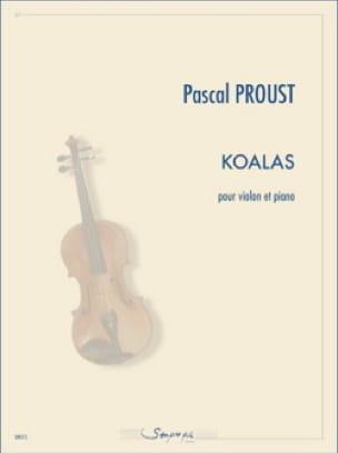 Koalas - Violon et piano - Pascal Proust - laflutedepan.com