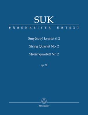 Quatuor à cordes n° 2 - Conducteur - Josef Suk - laflutedepan.com