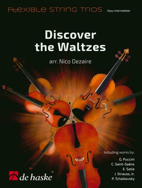 Discover the Waltzes - Trio à cordes - laflutedepan.com