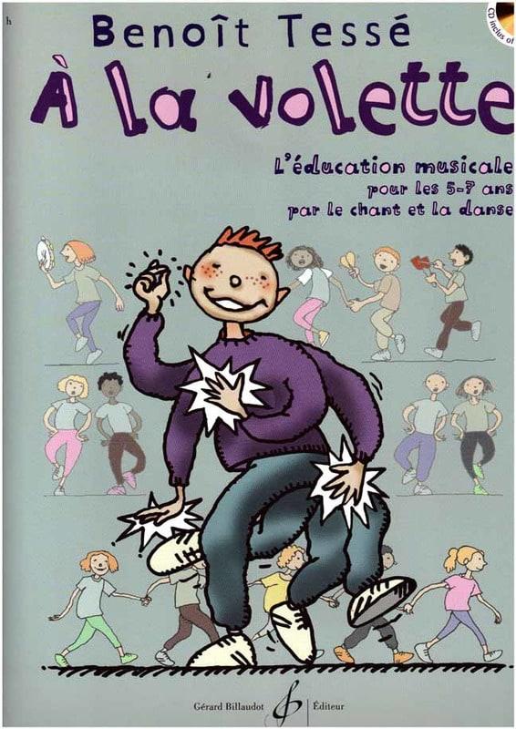 A la Volette - Benoît Tessé - Partition - laflutedepan.com
