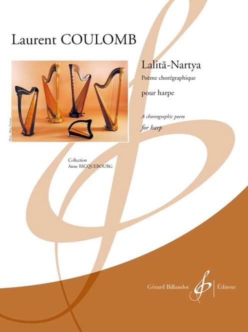 Lalita-Nartya - Harpe - Laurent Coulomb - Partition - laflutedepan.com