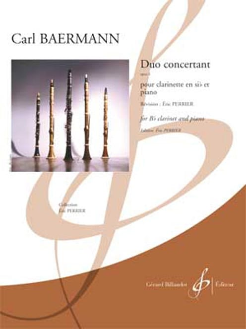 Duo Concertant, op. 4 - Clarinette et piano - laflutedepan.com