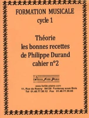 Philippe Durand - Theory, The Good Recipes, Volume 2 - Partition - di-arezzo.co.uk