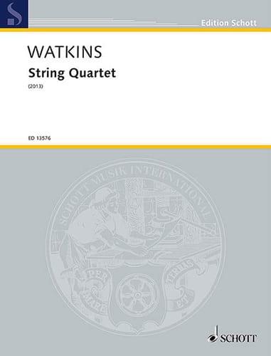 String Quartet 2013 - Parties + Conducteur - laflutedepan.com