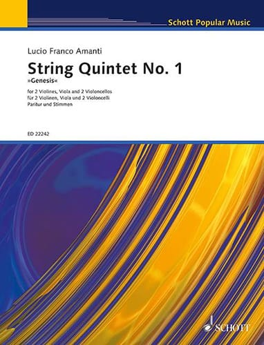 Quintette à Cordes n° 1 - Parties + Conducteur - laflutedepan.com