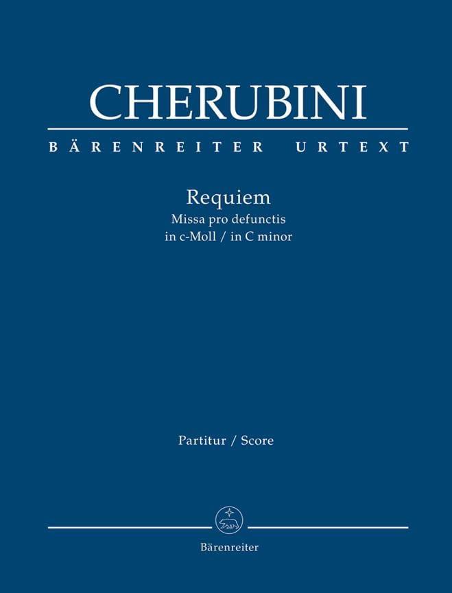Requiem en do mineur - Conducteur - CHERUBINI - laflutedepan.com
