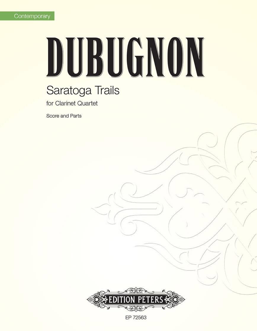 Saratoga Trails - Richard Dubugnon - Partition - laflutedepan.com