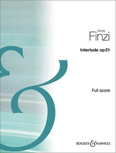 Interlude, op. 21 - Conducteur - Gerald Finzi - laflutedepan.com