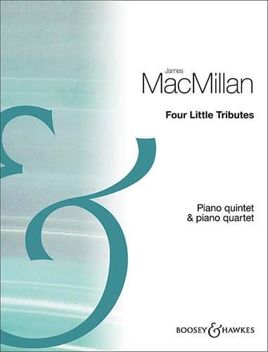 Four Little Tributes - Quintette Cordes et piano - laflutedepan.com