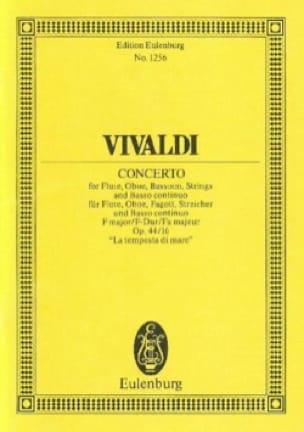 Konzert F-Dur - VIVALDI - Partition - Petit format - laflutedepan.com