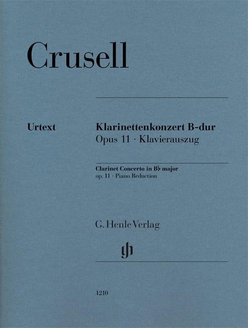 Bernhard Henrik Crusell - Concierto para clarinete, op. 11 - Partition - di-arezzo.es