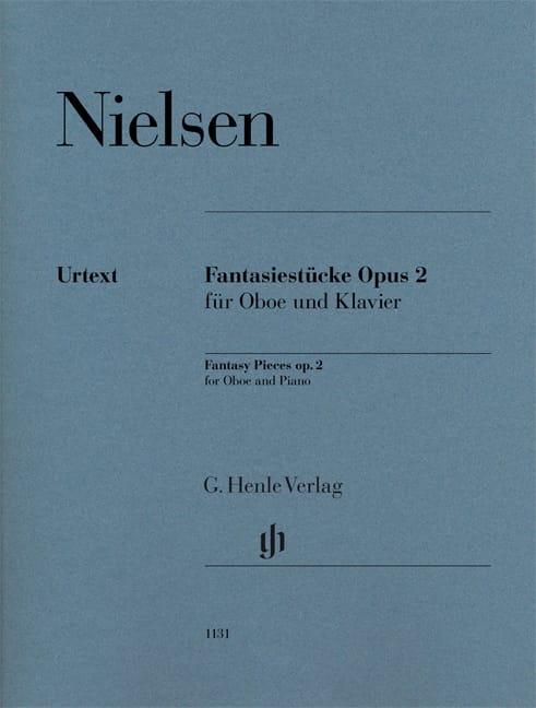 Carl Nielsen - Fantasiestücke, op. 2 - Oboe and piano - Partition - di-arezzo.com