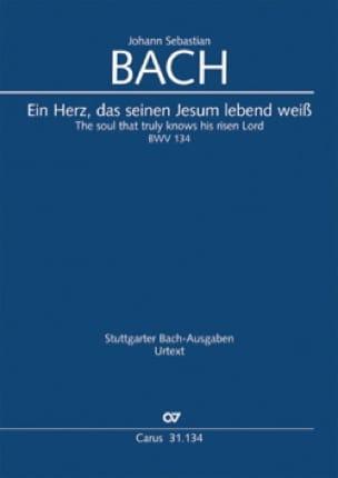 Cantate BWV 134 - Conducteur poche - BACH - laflutedepan.com