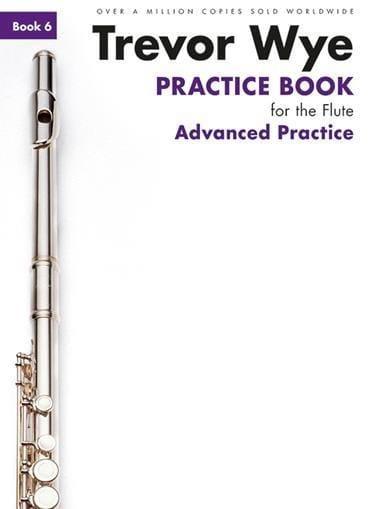 Practice Book for the Flute Volume 6 - Advanced Practice - laflutedepan.com