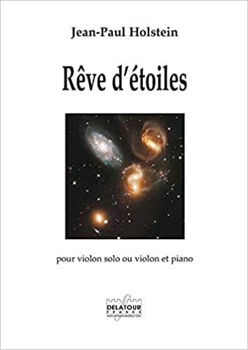 Rêve d'étoiles - Jean-Paul Holstein - Partition - laflutedepan.com