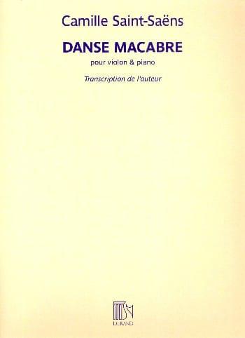 Camille Saint-Saëns - Danza macabra - Partition - di-arezzo.es