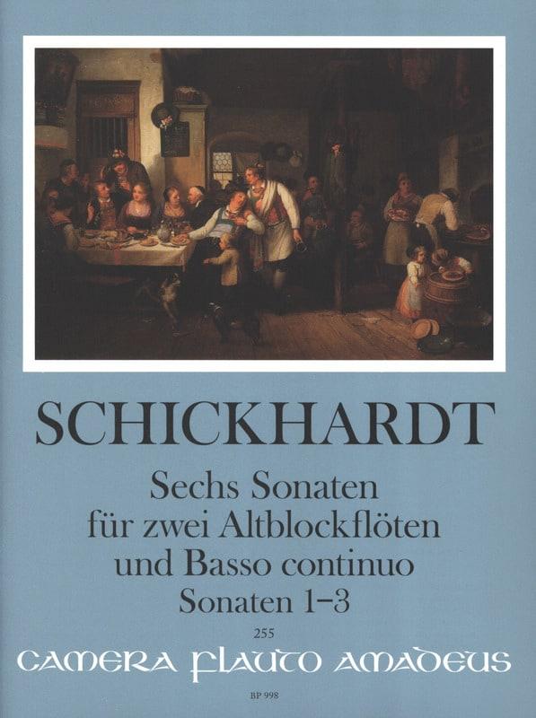6 Sonaten Vol. 1 - 2 Altblockflöten und BC - laflutedepan.com