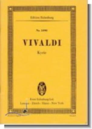 Kyrie - VIVALDI - Partition - Petit format - laflutedepan.com