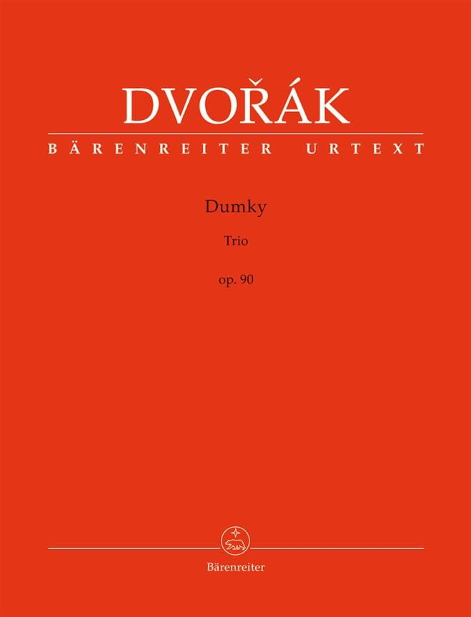 DVORAK - Dumky Trio, op. 90 - Partition - di-arezzo.co.uk