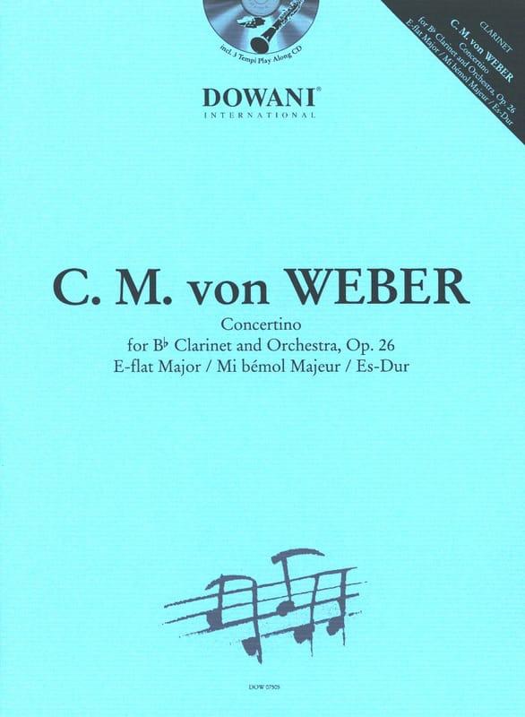 Concertino en MI bémol Majeur - Opus 26 - laflutedepan.com