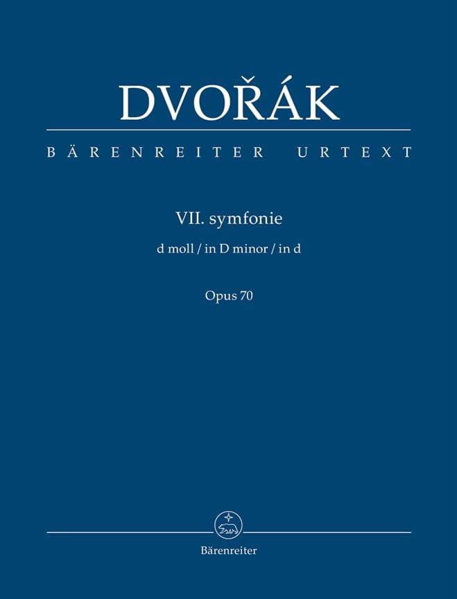 Symphonie n° 7 - Conducteur - DVORAK - Partition - laflutedepan.com