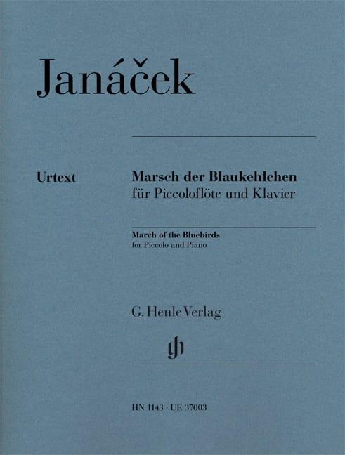 Marsch der Blaukehlchen - Piccolo et piano - laflutedepan.com