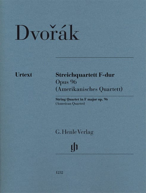 DVORAK - String quartet, op. 96 American - Separate Parts - Partition - di-arezzo.co.uk