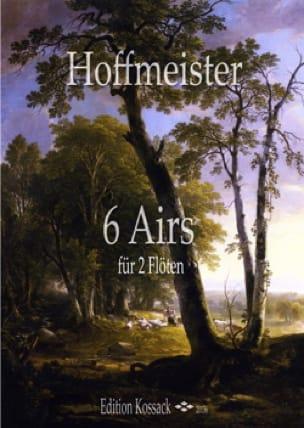 6 Airs - 2 Flûtes - HOFFMEISTER - Partition - laflutedepan.com