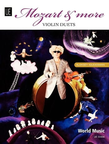 Aleksey Igudesman - Mozart and more - Violin duets - Partition - di-arezzo.co.uk