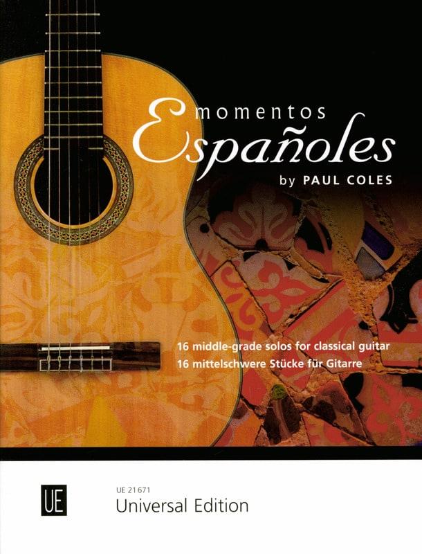Paul Coles - Momentos Espanoles - Chitarra - Partition - di-arezzo.it