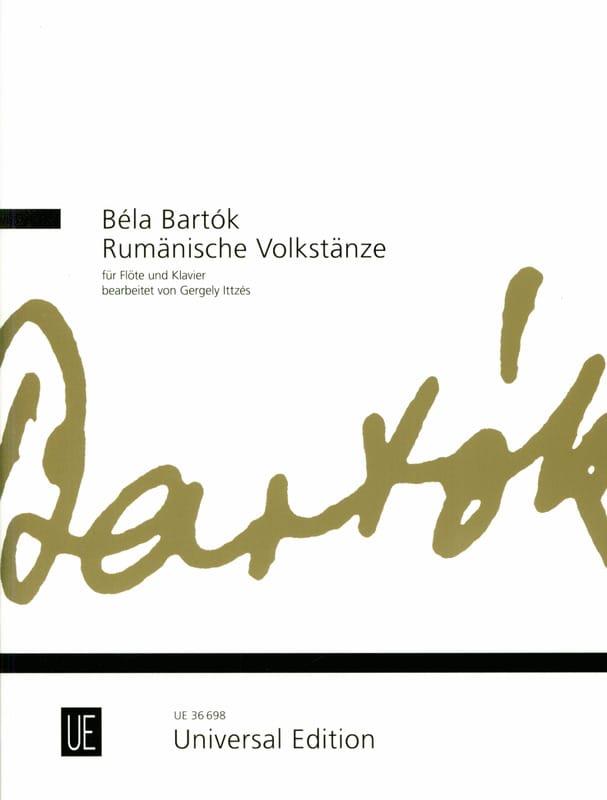 BARTOK - Rumänische Volkstänze - Flauta y piano - Partition - di-arezzo.es