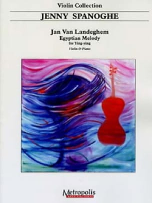 Egyptian melody for Ying-Ying - Jan VAN LANDEGHEM - laflutedepan.com