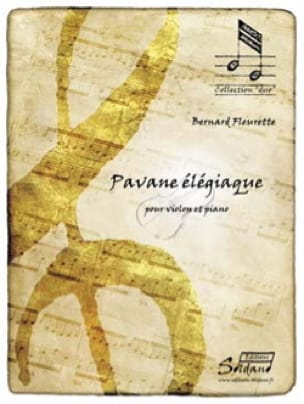 Pavane élégiaque - Bernard Fleurette - Partition - laflutedepan.com