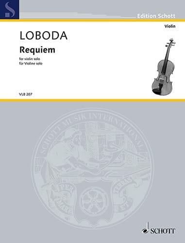 Requiem - Violon solo - Igor Loboda - Partition - laflutedepan.com