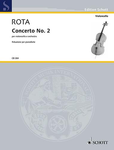 Concerto n° 2 - Violoncelle et piano - Nino Rota - laflutedepan.com