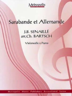 Sarabande et Allemande - Jean-Baptiste Senaillé - laflutedepan.com