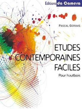 Études contemporaines faciles - Pascal GERVAIS - laflutedepan.com