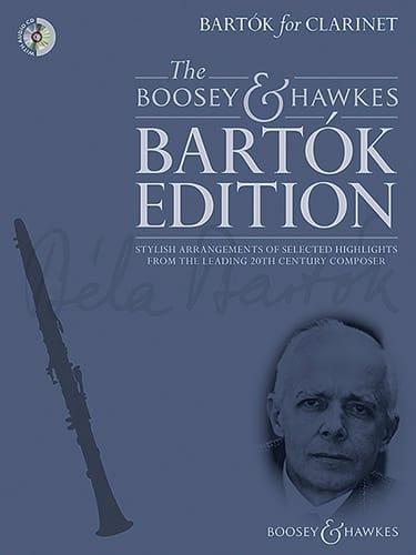 Bartok for Clarinet - Clarinette et piano - BARTOK - laflutedepan.com