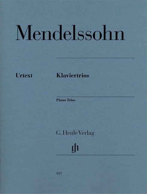 MENDELSSOHN - Trios - Violin, cello and piano - Partition - di-arezzo.co.uk