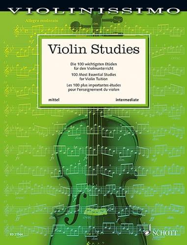 Violin Studies Intermediate - Violon - laflutedepan.com