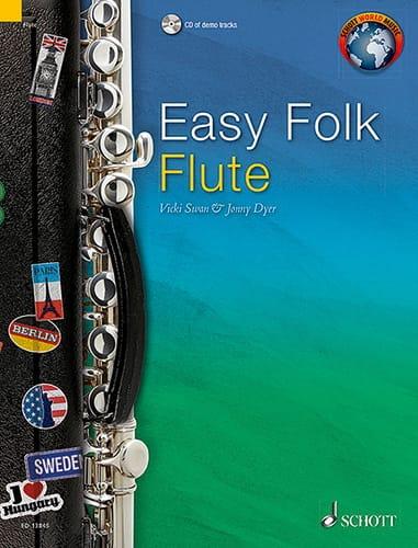 Easy Folk Flute - Traditionnels - Partition - laflutedepan.com