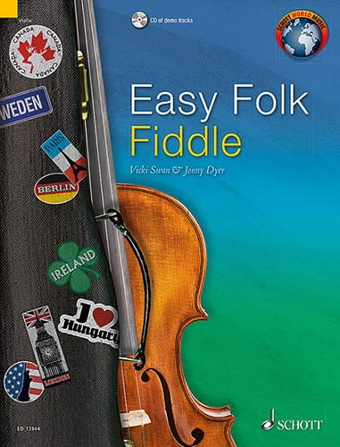 Traditionnels - Easy Folk Fiddle - Violin - Partition - di-arezzo.co.uk