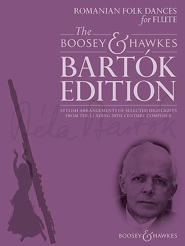 BARTOK - Danzas folclóricas rumanas - Flauta y piano - Partition - di-arezzo.es
