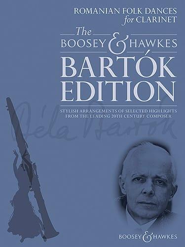 BARTOK - Rumänische Volkstänze - Klarinette und Klavier - Partition - di-arezzo.de
