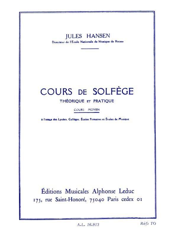 Solfege Theorique et Pratique - Moyen - laflutedepan.com