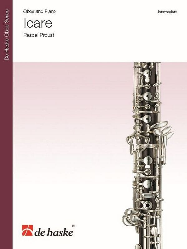 Pascal Proust - Icare - Oboe and piano - Partition - di-arezzo.co.uk